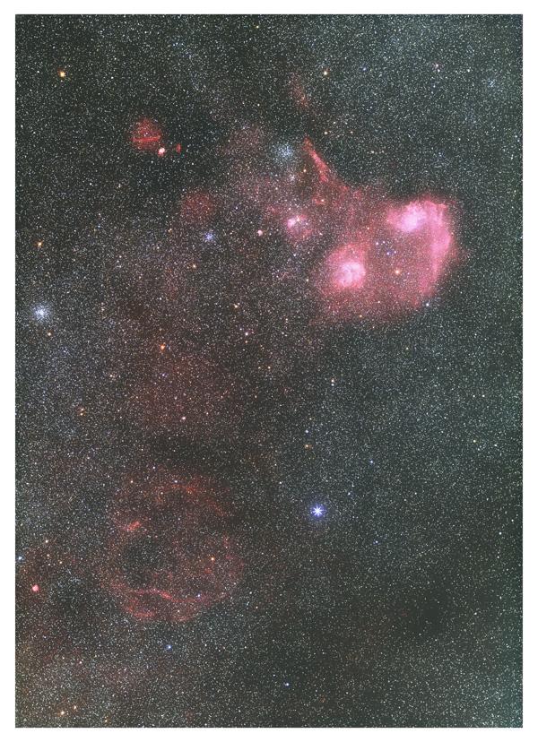 ぎょしゃ座の星雲星団