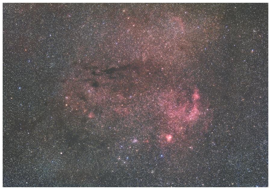 きりん~ペルセウス間の星野
