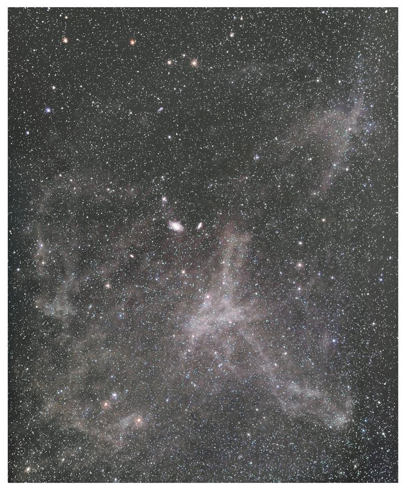 北天の分子雲(M81/M82付近)