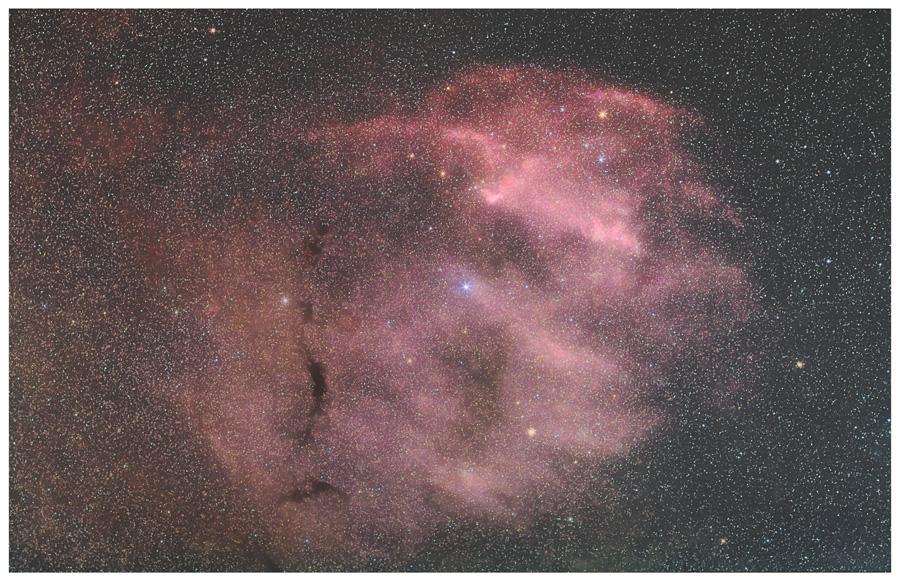 へびつかい座の散光星雲