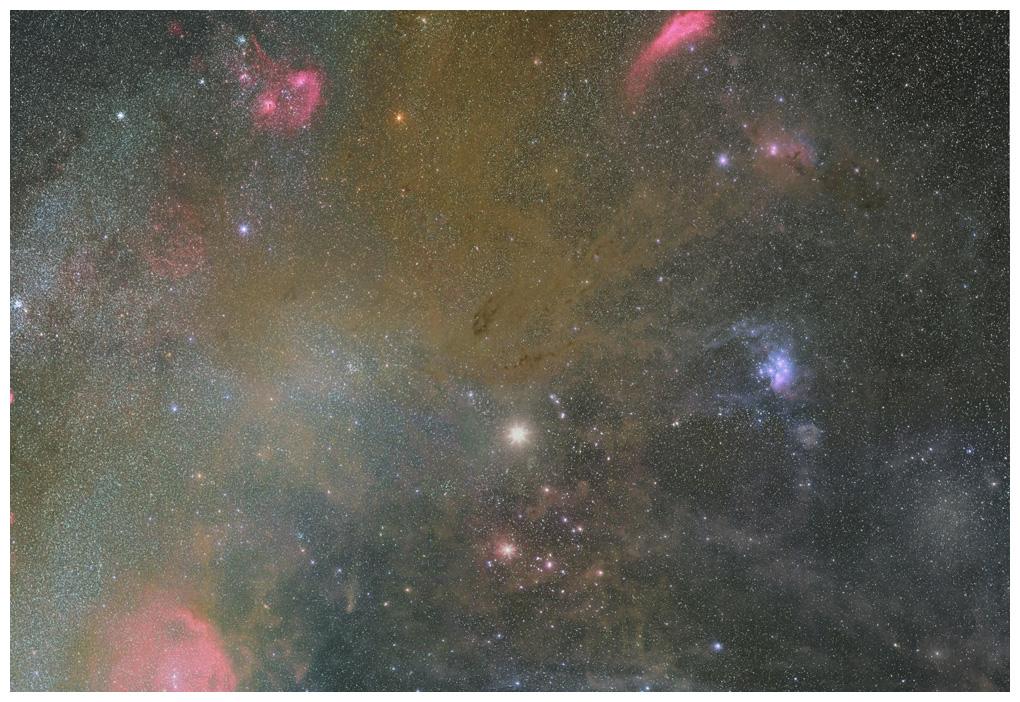 おうし座付近の星雲